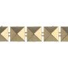 Plastic Trim Spike Stud 10mm Gold
